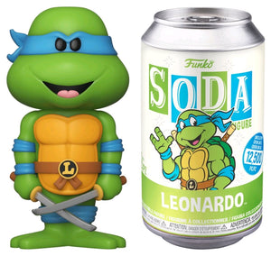 Teenage Mutant Ninja Turtles - Leonardo Vinyl SODA Figure