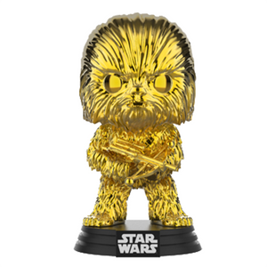 Star Wars - Chewbacca Gold Chrome SWC 2019 Exclusive Pop! Vinyl Figure