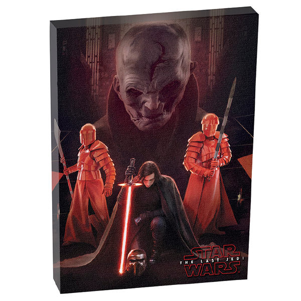 Star Wars The Last Jedi - Canvas The First Order