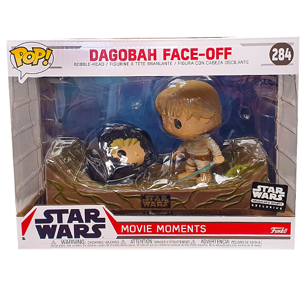 Star Wars - Dagobah Face-Off Smugglers Bounty Exclusive Movie Moments Pop! Vinyl
