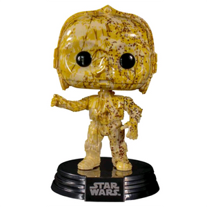 Star Wars - C-3PO (Futura) US Exclusive Pop! Vinyl Figure w/Pop! Stacks Protector