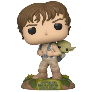 Star Wars The Empire Strikes Back - Luke Skywalker Training with Yoda Pop! Vinyl Figure