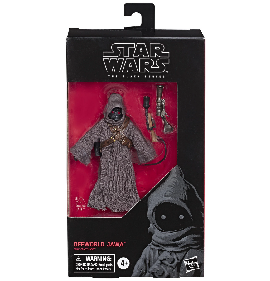 "Star Wars The Mandalorian - Black Series 6"" Offworld Jawa Action Figure"