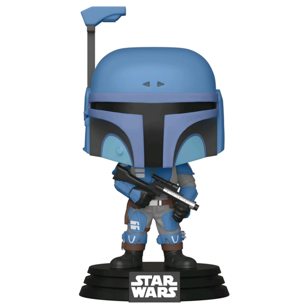 Star Wars The Mandalorian - Death Watch Mandalorian (Two Stripes) US Exclusive Pop! Vinyl Figure