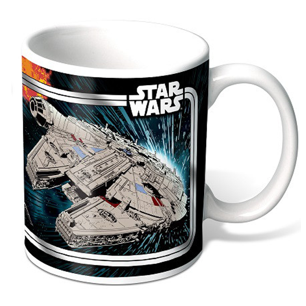 Star Wars - Heat Changing Mug Millennium Falcon