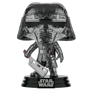Star Wars The Rise of Skywalker - Knight of Ren with Heavy Blade Hematite Chrome Pop! Vinyl Figure