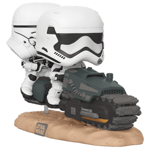 Star Wars The Rise of Skywalker - First Order Tread Speeder Movie Moments Pop! Vinyl