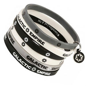 Star Wars - Silicone Bracelets Galactic Empire
