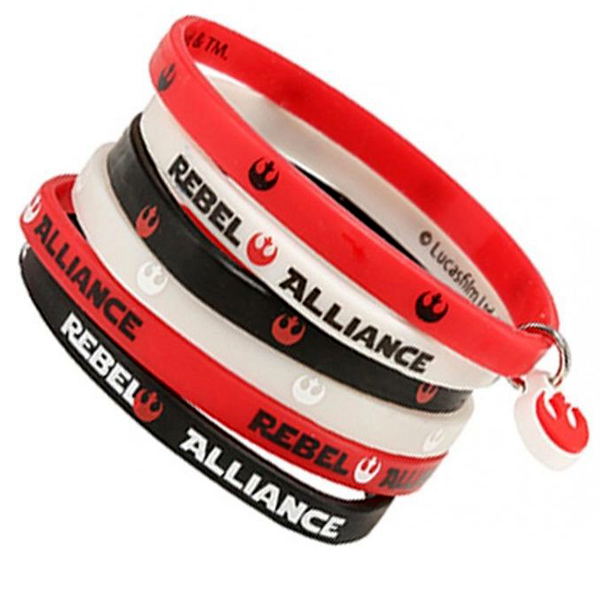 Star Wars - Silicone Bracelets Rebel Alliance