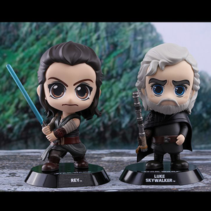 Star Wars The Last Jedi - Luke Skywalker & Rey Cosbaby Set