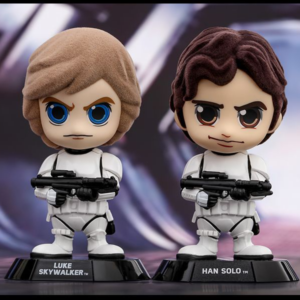 Star Wars - Luke & Han (Stormtrooper Disguise) Cosbaby Set