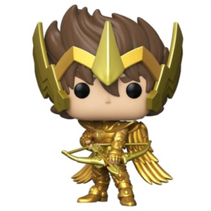 Saint Seiya Knights of the Zodiac - Sagittarius Seiya with Gold Armor US Exclusive Pop! Vinyl Figure