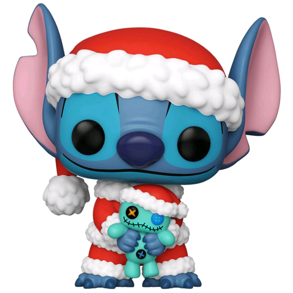 Disney - Santa Stitch with Scrump US Exclusive Pop! Vinyl Figure