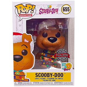 Scooby Doo - Scooby Doo Holiday with Christmas Lights Cyber Monday Exclusive Pop! Vinyl Figure