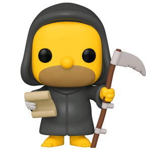 The Simpsons Treehouse of Horror - Grim Reaper Homer Pop! Vinyl Figure