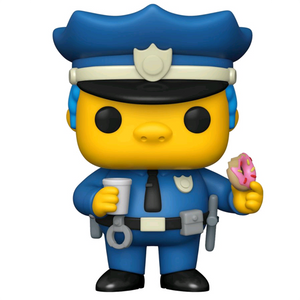 The Simpsons - Chief Wiggum Pop! Vinyl Figure