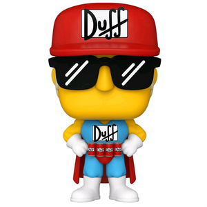 The Simpsons - Duffman Pop! Vinyl Figure
