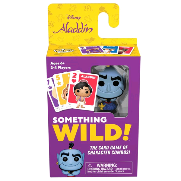 Aladdin - Something Wild Pop! Card Game