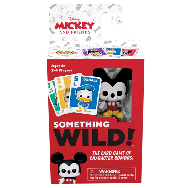 Mickey Mouse & Friends - Something Wild Pop! Card Game