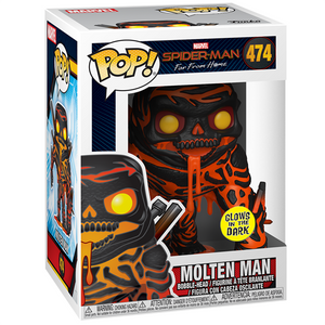 Spider-Man Far From Home - Molten Man Glow US Exclusive Pop! Vinyl Figure