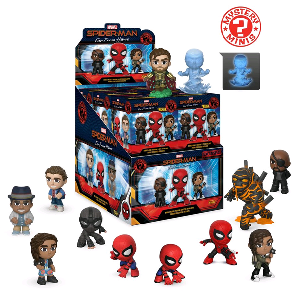 Spider-Man Far From Home - Mystery Minis Walmart US Exclusive - Blind Box