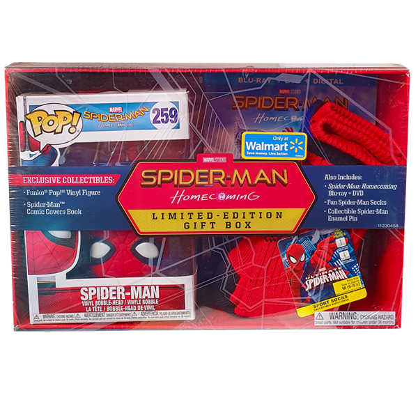 Spider-Man Homecoming - Limited Edition Gift Box Pop! & Collectables - Sealed