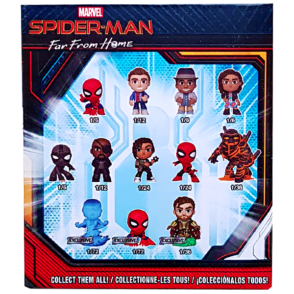 Spider Man Far From Home Mystery Minis Walmart Us