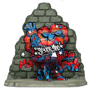 Marvel Street Art Collection - Spider-Man US Exclusive Pop! Vinyl Deluxe