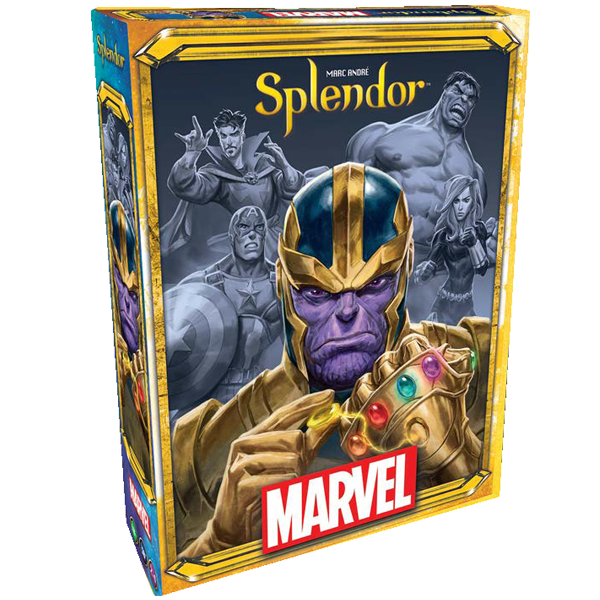 Marvel - Splendor Board Game