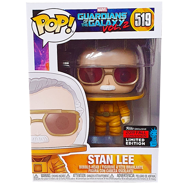 Guardians of the Galaxy Vol. 2 - Stan Lee as Astronaut NYCC 2019 Exclusive Pop! Vinyl Figure