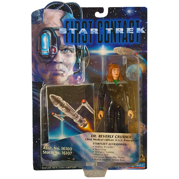 Star Trek First Contact - Dr. Beverly Crusher Vintage Action Figure