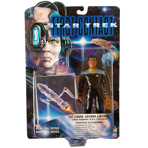 Star Trek First Contact - LT. Commander Geordi LaForge Vintage Action Figure