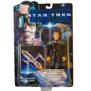 Star Trek First Contact - Captain Jean-Luc Picard Vintage Action Figure