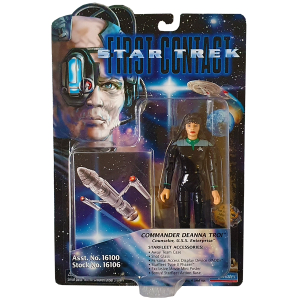 Star Trek First Contact - Commander Deanna Troi Vintage Action Figure