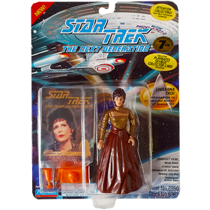 Star Trek The Next Generation - Lwaxana Troi Vintage Action Figure