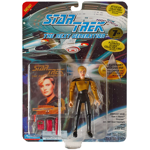 Star Trek The Next Generation - Lieutenant Natasha Yar Vintage Action Figure