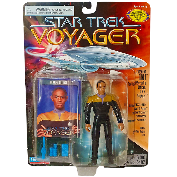 Star Trek Voyager - Lieutenant Tuvok Vintage Action Figure