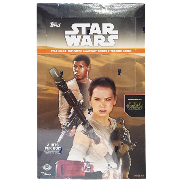 Star Wars The Force Awakens Series 2 Hobby Category Trading Cards - Booster Pack