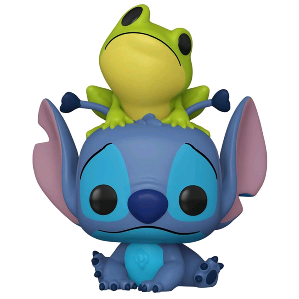 Lilo & Stitch - Stitch with Frog US Exclusive Pop! Vinyl Figure