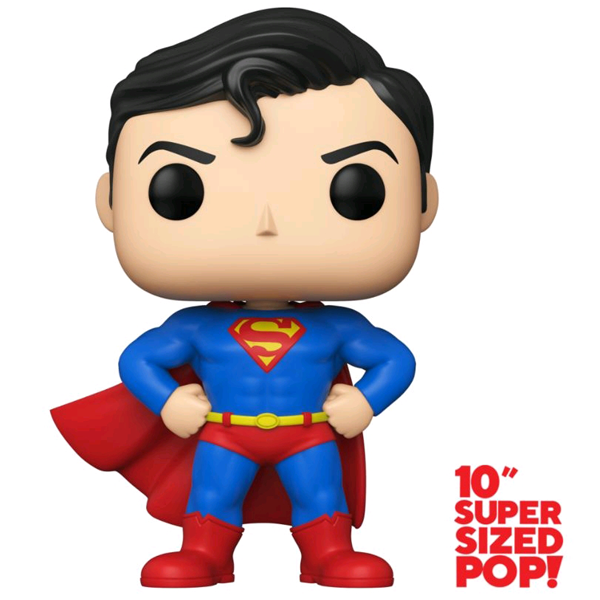 "DC Super Heroes - Superman 10"" US Exclusive Pop! Vinyl Figure"