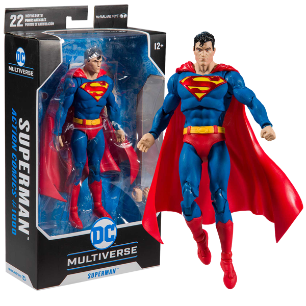 "DC Multiverse - Detective Comics #1000 Superman 7"" Action Figure"