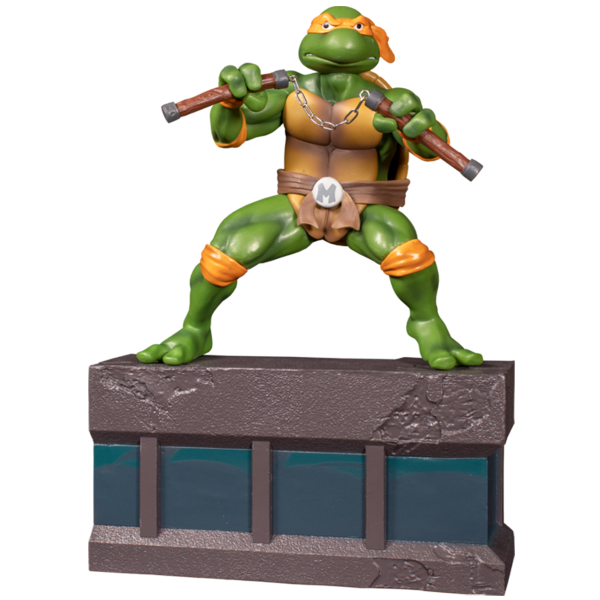 Teenage Mutant Ninja Turtles (1987) - Michelangelo 1:8 Scale PVC Statue
