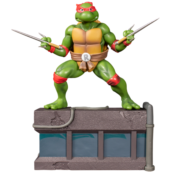 Teenage Mutant Ninja Turtles (1987) - Raphael 1:8 Scale PVC Statue