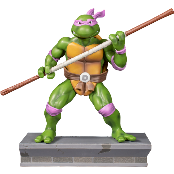 Teenage Mutant Ninja Turtles (1987) - Donatello 1:8 Scale PVC Statue