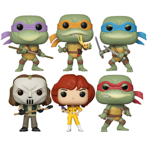Teenage Mutant Ninja Turtles (1987) - Pop! Vinyl Figures Bundle