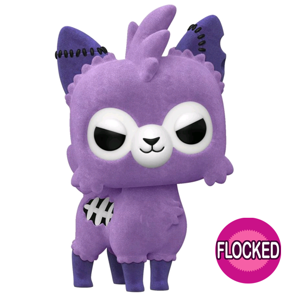 Tasty Peach - Zombie Alpaca (Lavender) Flocked US Exclusive Pop! Vinyl Figure