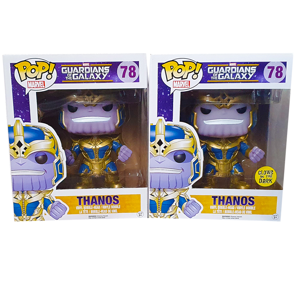 "Guardians of the Galaxy - Thanos 6"" Pop! Vinyl Figures Bundle"