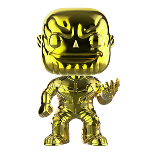 Avengers Infinity War - Thanos Yellow Chrome US Exclusive Pop! Vinyl Figure