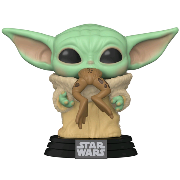 Star Wars The Mandalorian - The Child with Frog Pop! Vinyl Figure