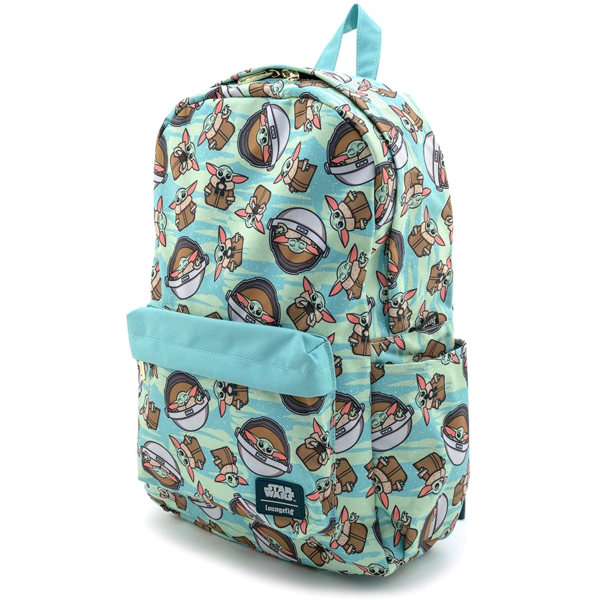Star Wars The Mandalorian - The Child Collage Backpack